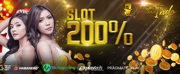 Judi Slot Bonus New Member 200%